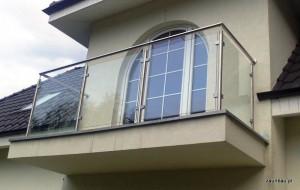 balustrada szklana 2