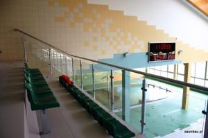 balustrady szklane chojnow basen 2